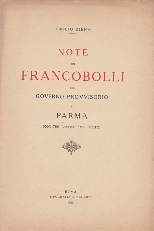Emilio Diena - Note sui francobolli del Governo Provvisorio di Parma