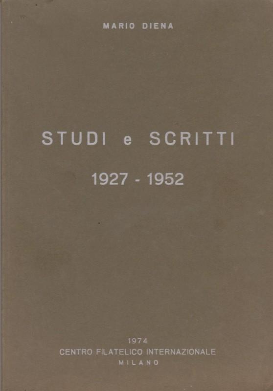 Mario Diena - Studi e scritti dal 1927 al 1952