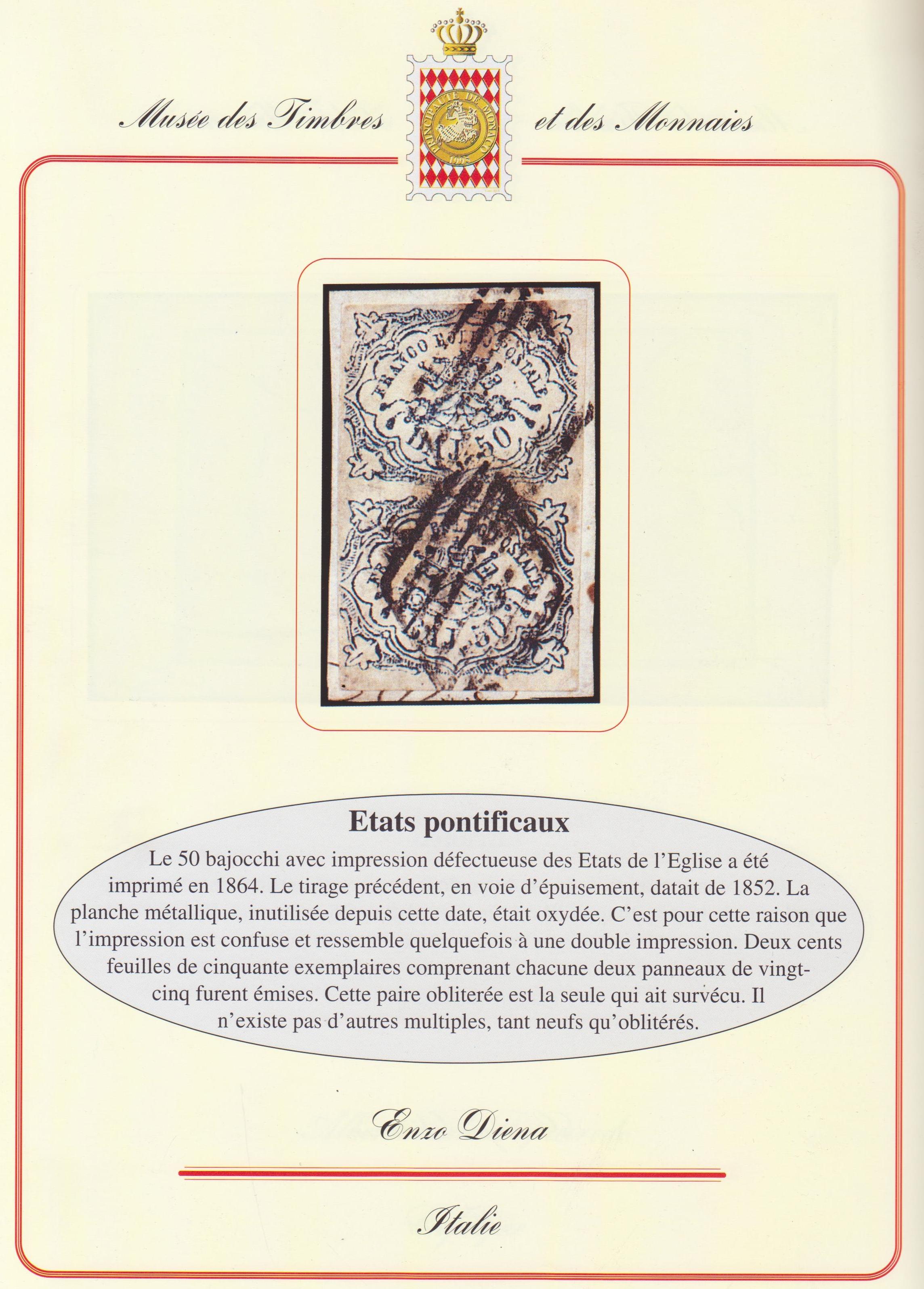 Coppiola 50 baj Stato Pontificio